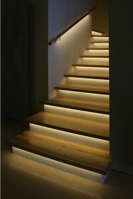 bal4 Podświetlana poręcz lub balustrada