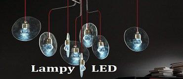 Lampy sufitowe LED