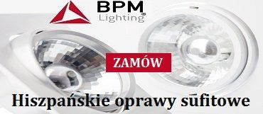 Oprawy sufitowe BPM natynkowe i wpuszczane
