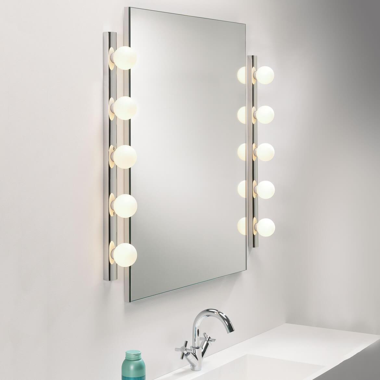 Lampy ścienne do oświetlenia lustra
