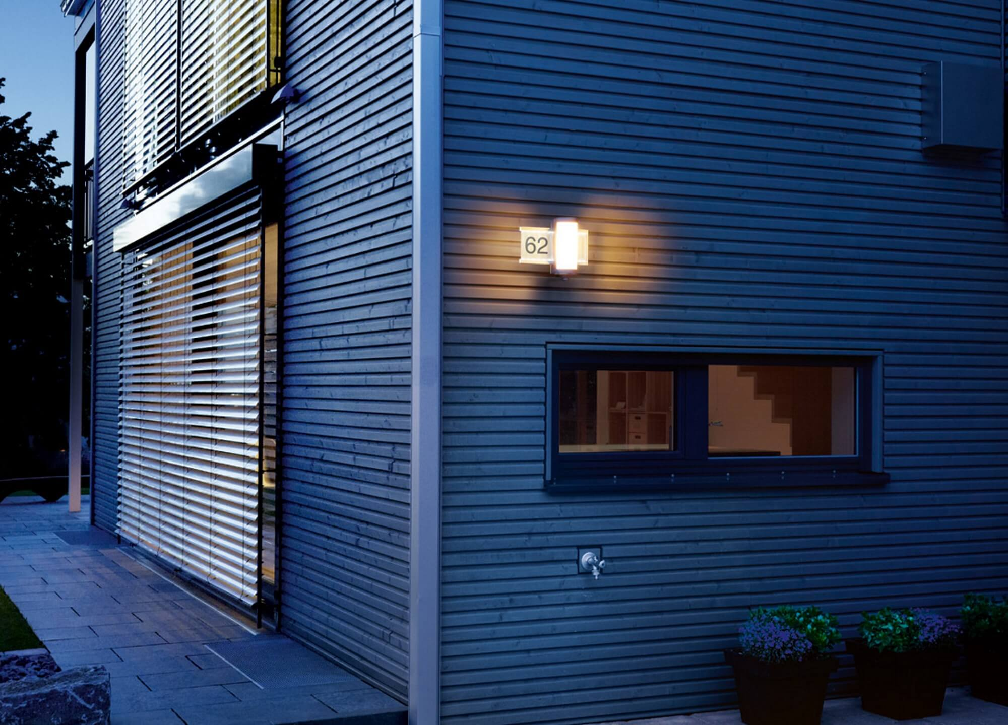 lampa LED nr domu