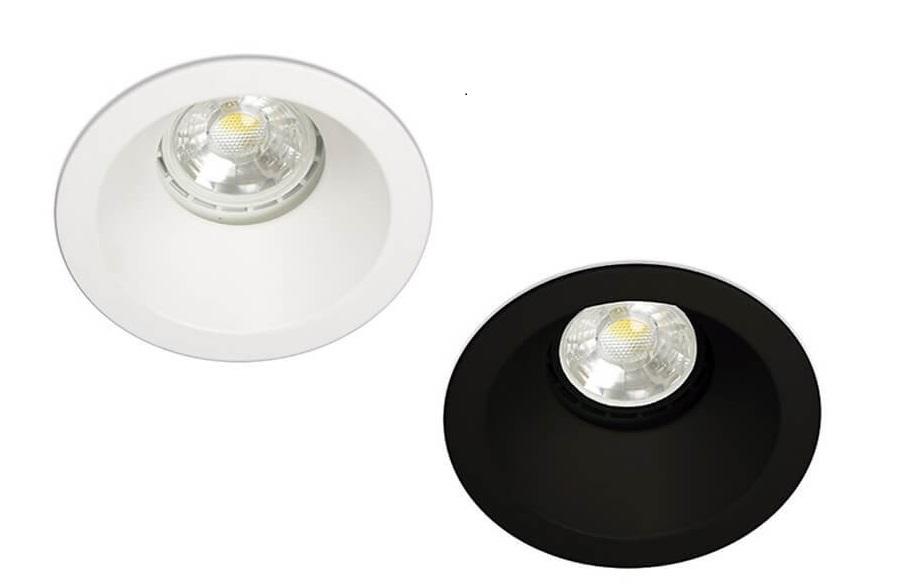 Kohl Dip K50113 oczko łazienkowe białe, czarne