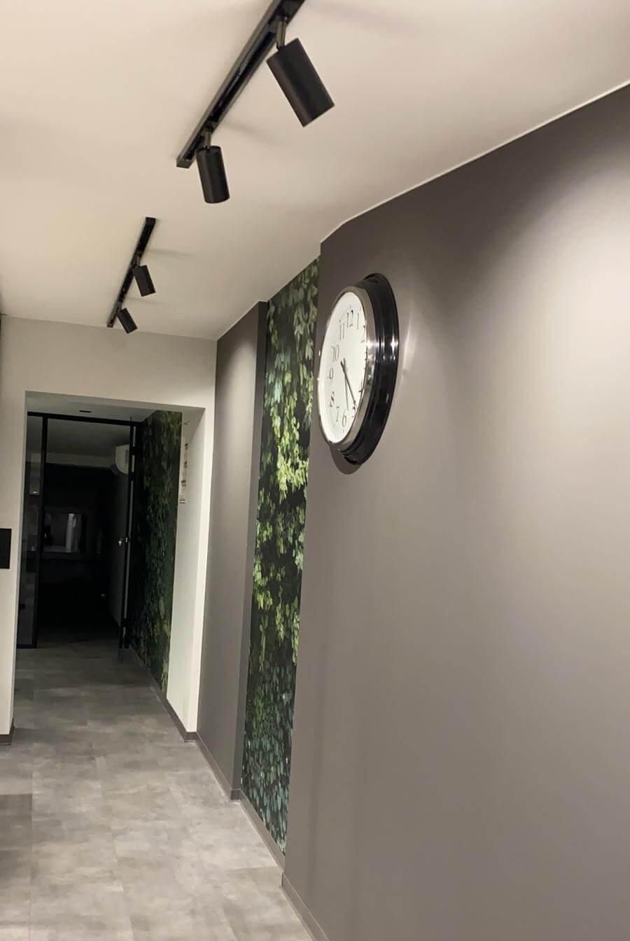 Oświetlenie szynowe do korytarza