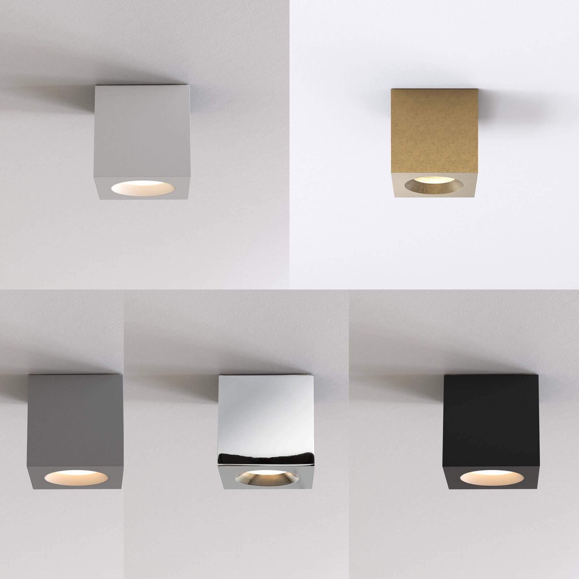 kwadratowa lampa do łazienki IP65
