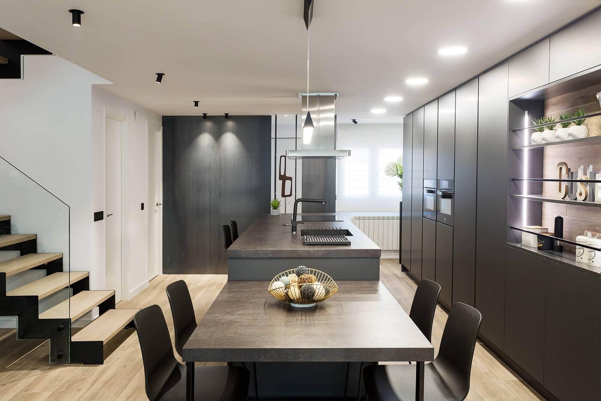 Nowoczesne oświetlenie LED do kuchni