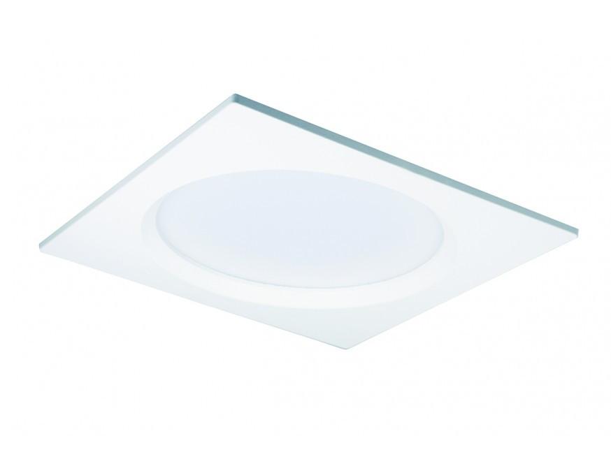 Kwadratowa oprawa łazienkowa wpuszczana LED