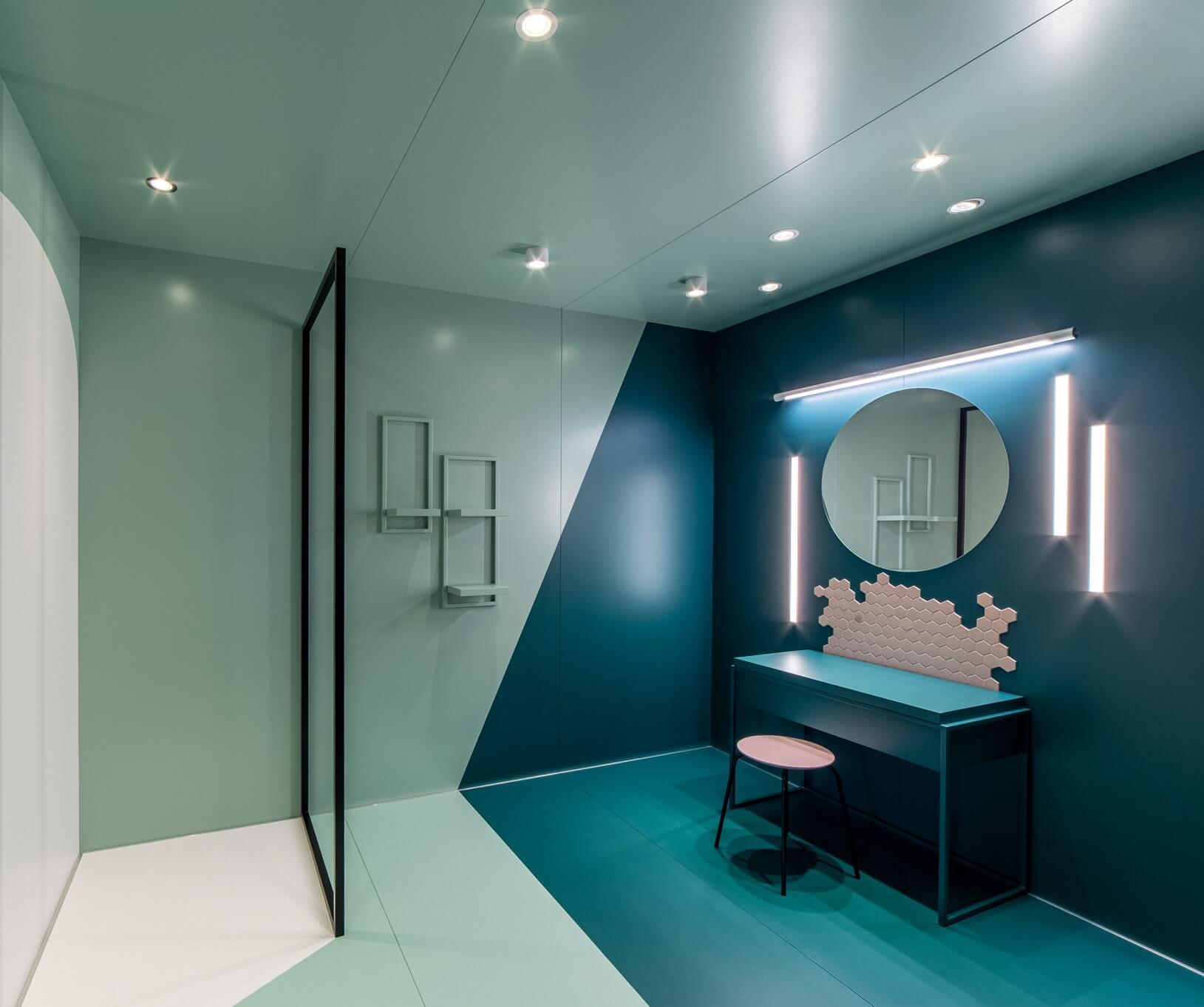 Oświetlenie łazienkowe LED aqform