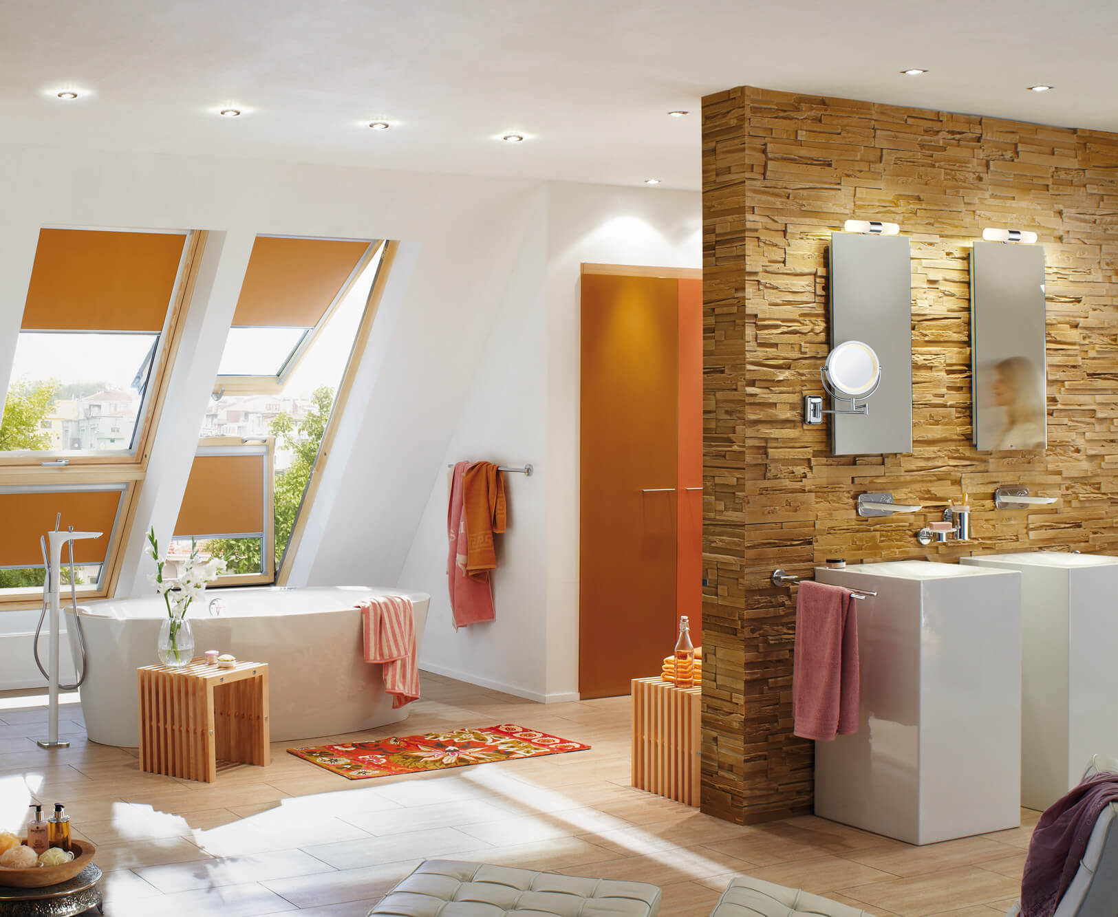 bathroom led lighting and mirrors