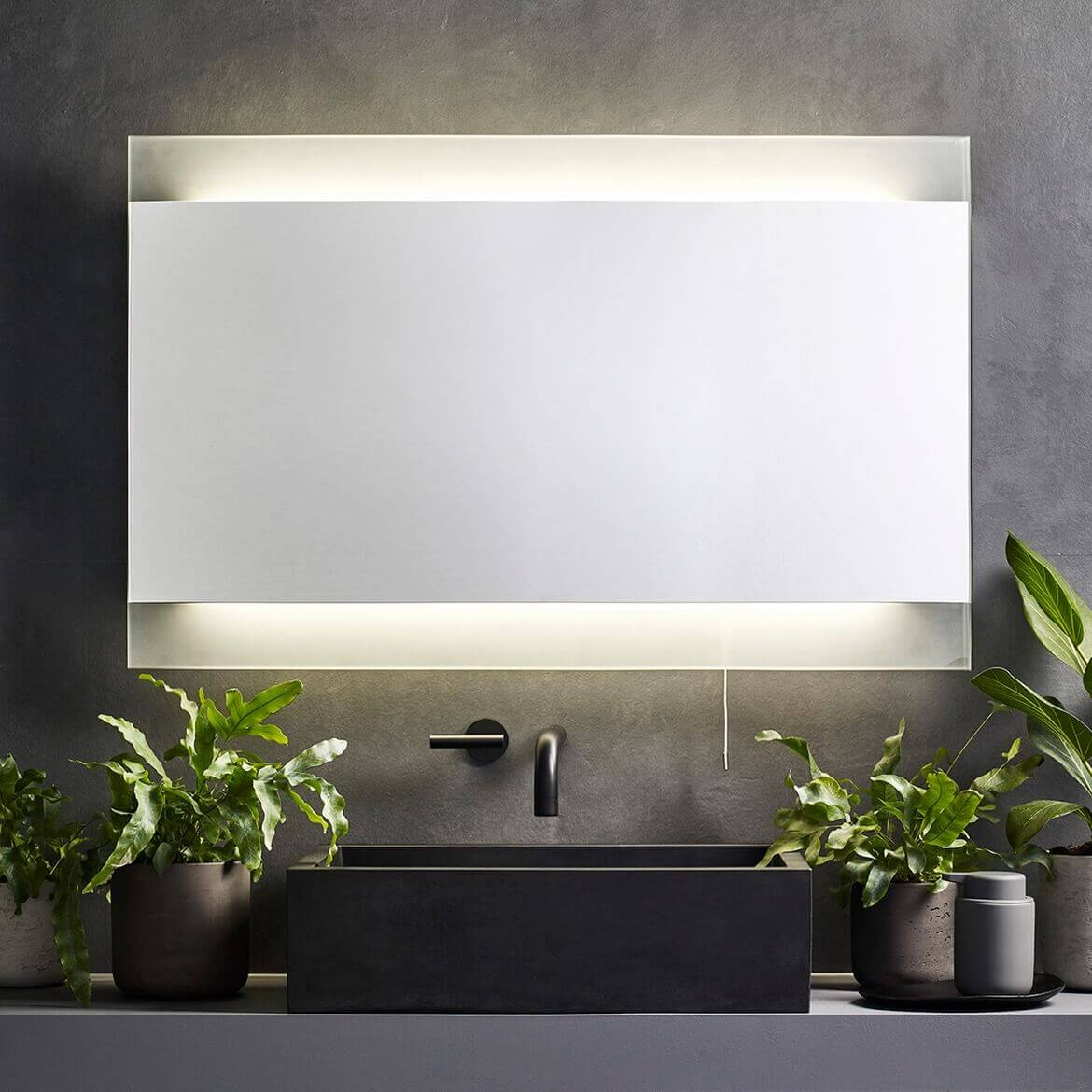 modern bathroom led mirror