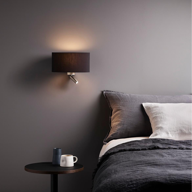 lampa z abażurem do czytania