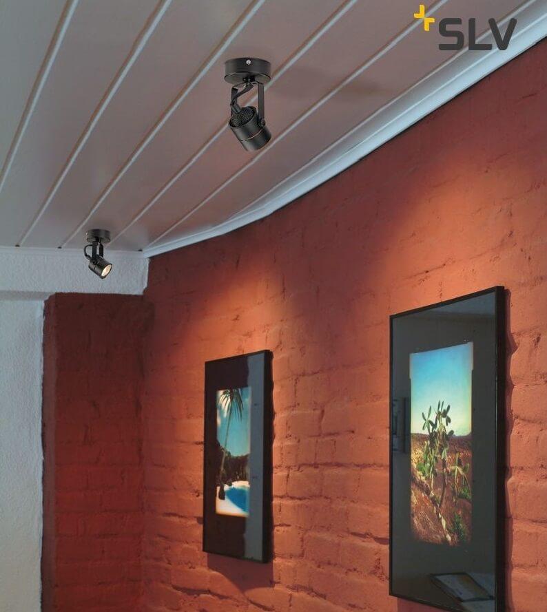 Reflektor sufitowe do oświetlenia ścian
