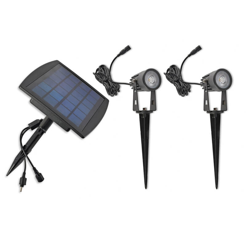 reflektorki ogrodowe solarne