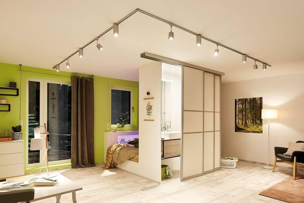 Light rail for the living room
