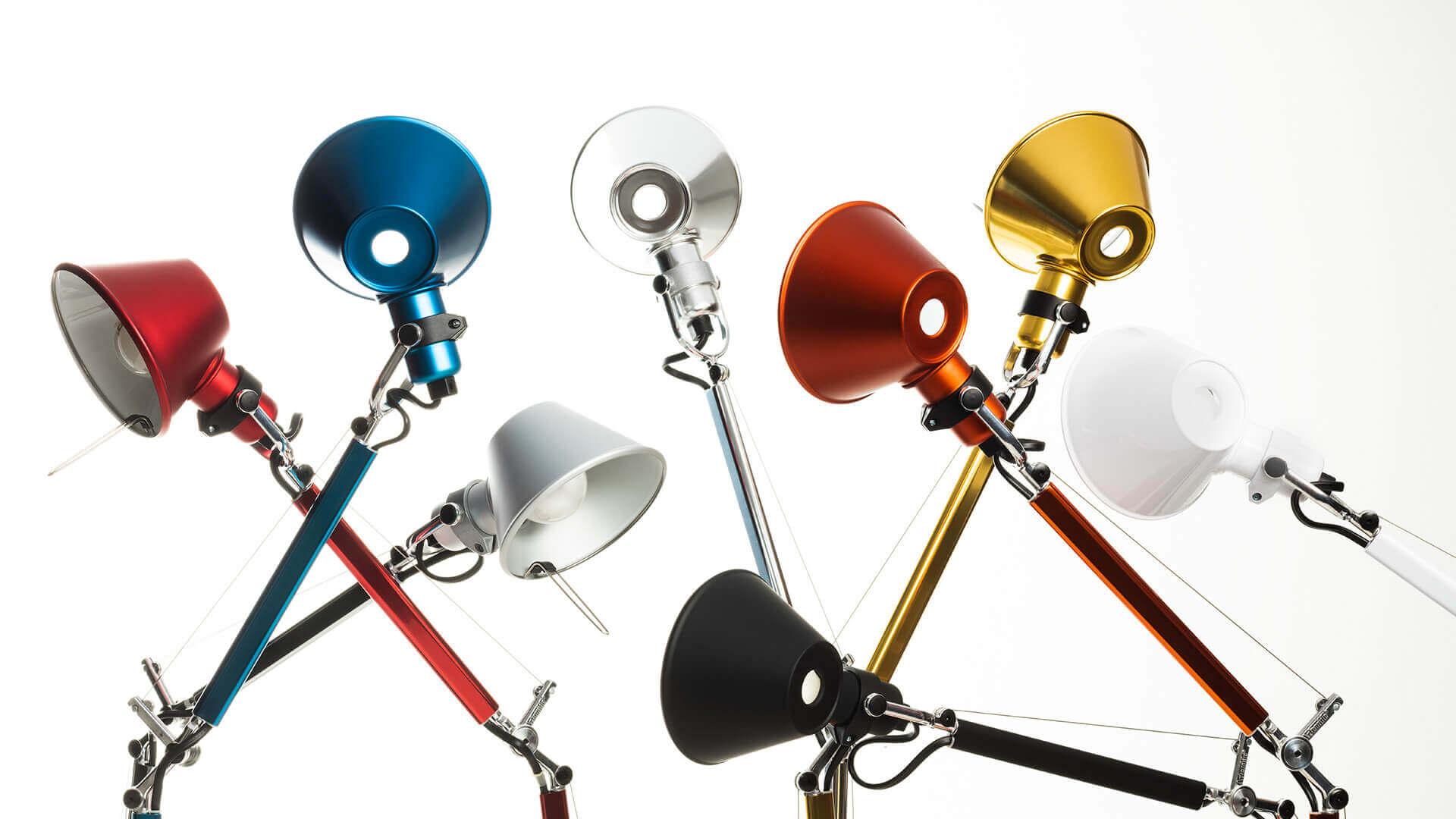 Colors Artemide Tolomeo Micro Table desk lamp