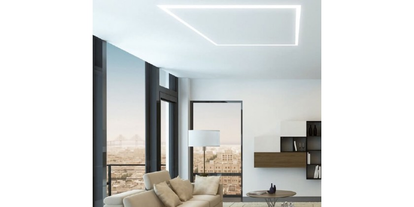 LED lighting lines-ordinary lamps are no longer needed!