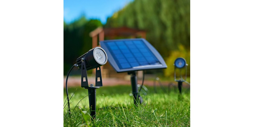 Free lighting or solar LED lamps