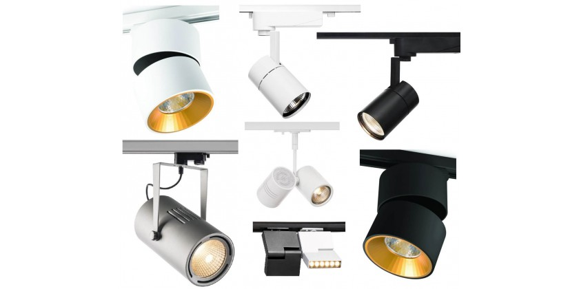 The most popular rail spotlights - what to choose for rail lighting?