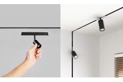 Multitrack - modern lamps and track systems 48V magnetic
